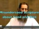 Misunderstood Scriptures About Health And Diet