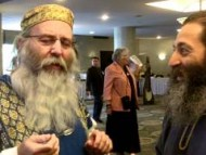 Michael Rood and Paul Nison Share A Durian Fruit: Passover 2012