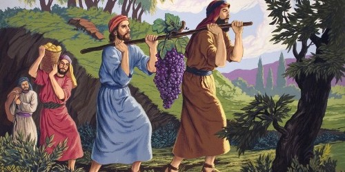 Torah Portion #37 Shlach L'kha (Numbers 13:1-15:41)