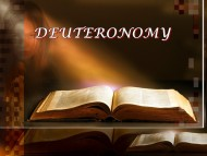 Torah Portion #44 D'varim (Deuteronomy 1:1-3:22)