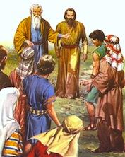 Torah Portion #52 Vayelekh (Deuteronomy 31:1-30)