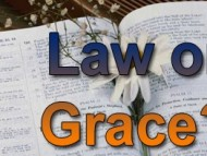 Grace and the law. Is there a difference?