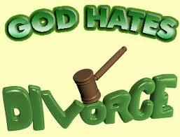 Our Creator Hates Divorce