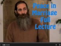 Peace In Marriage Full Lecture (1 hour)