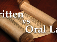 Oral Torah or Written Torah? What do you think?
