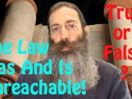 The Law Was And Is Unreachable...