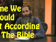 Time We Should Eat According to The Bible