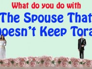 The Spouse Who Doesn't Keep Torah