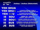 Yeshua or Jesus, What Is The Correct Name?