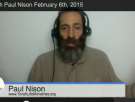 Live Shabbat With Paul Nison February 6th, 2015 @ 10pm .EST