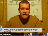 Live Shabbat Hangout With Paul Nison 4-10-15