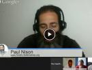 Live Shabbat Hangout with Paul Nison April 17th, 2015 10:00 PM est.