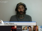 Live Shabbat Hangout with Paul Nison May 8th, at 10pm est.