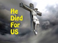 Yeshua Died For Us!