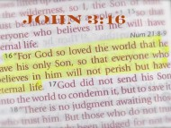 John 3:16 Does God Really Love Everyone?