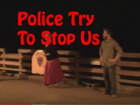 Police Try To Stop Us (Open-air Preaching)