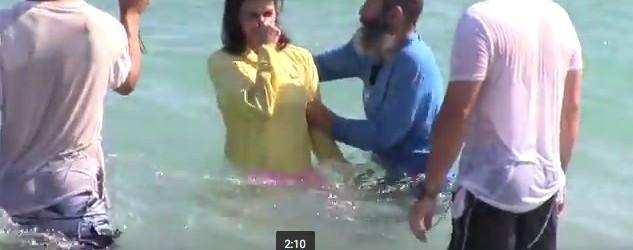 Baptisms In The Ocean