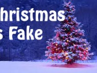 Christmas is Fake