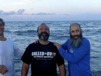 Beach Baptisim in LIving Waters Lake Worth Florida