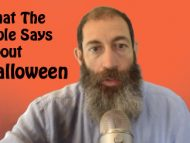What The Bible Says About Halloween