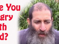 Are you angry with God?