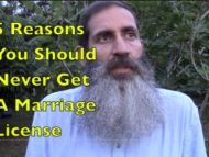5 Reasons You Should NOT Get a Marriage License