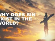 Why Does Sin Exist In The World?
