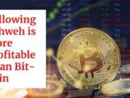 More Profitable Than Bit-Coin