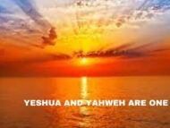 Yeshua and Yahweh are ONE! Yes Yeshua is Yahweh!