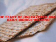Feast of Unleavened Bread Day 6 Reading