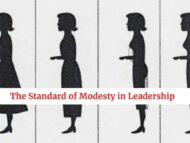 The Standard of Modesty In Leadership