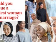 Men, would you pursue a woman who practiced extreme modesty