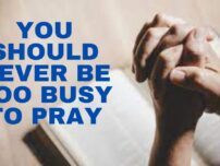 What does the Bible say about daily prayer?